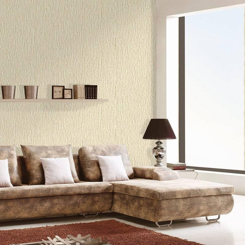 Papel de parede Leroy vinilico_spring_marrom_rolo_com_9,5m