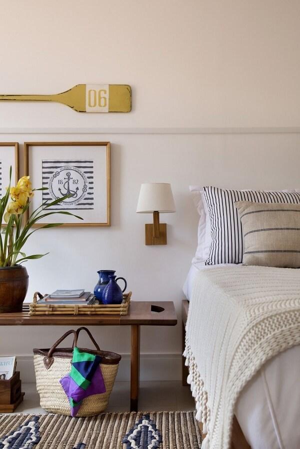 Utilize elementos náuticos na decoração da casa de praia