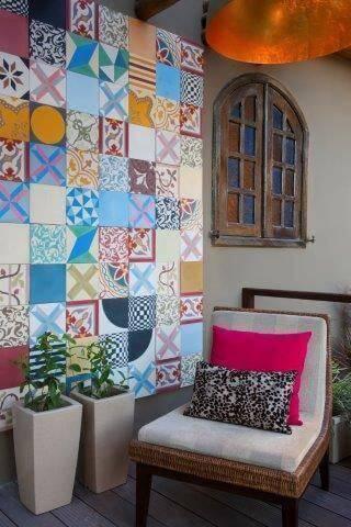 azulejo adesivo varanda colorido dm arquitetura 41374