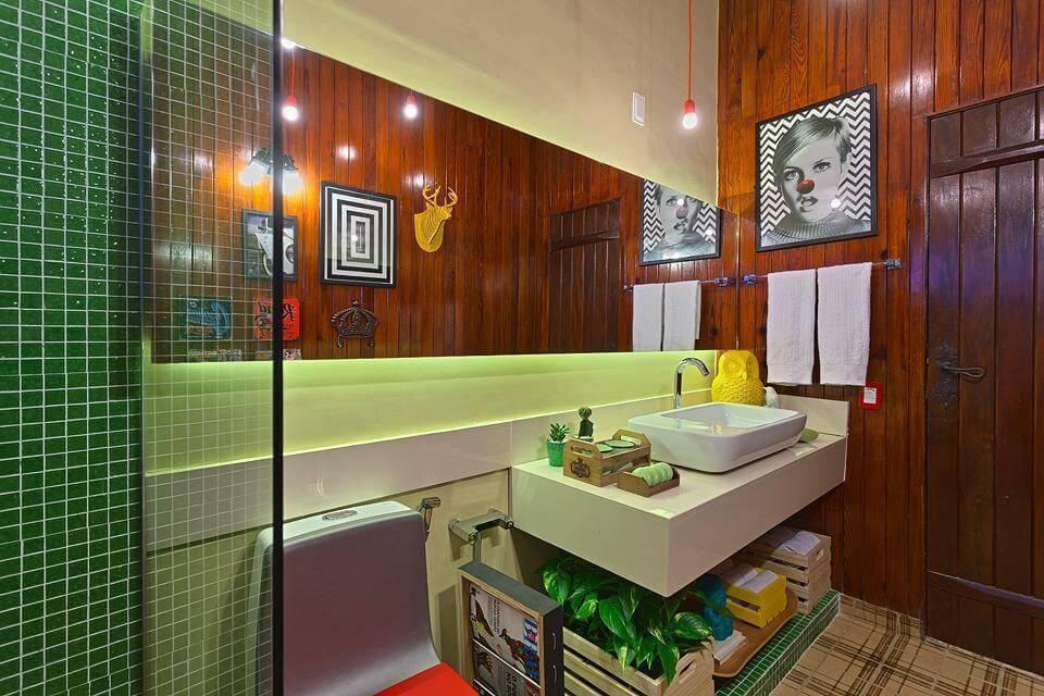 cacto bancada lavabo de banheiro estudio 7 design 41475