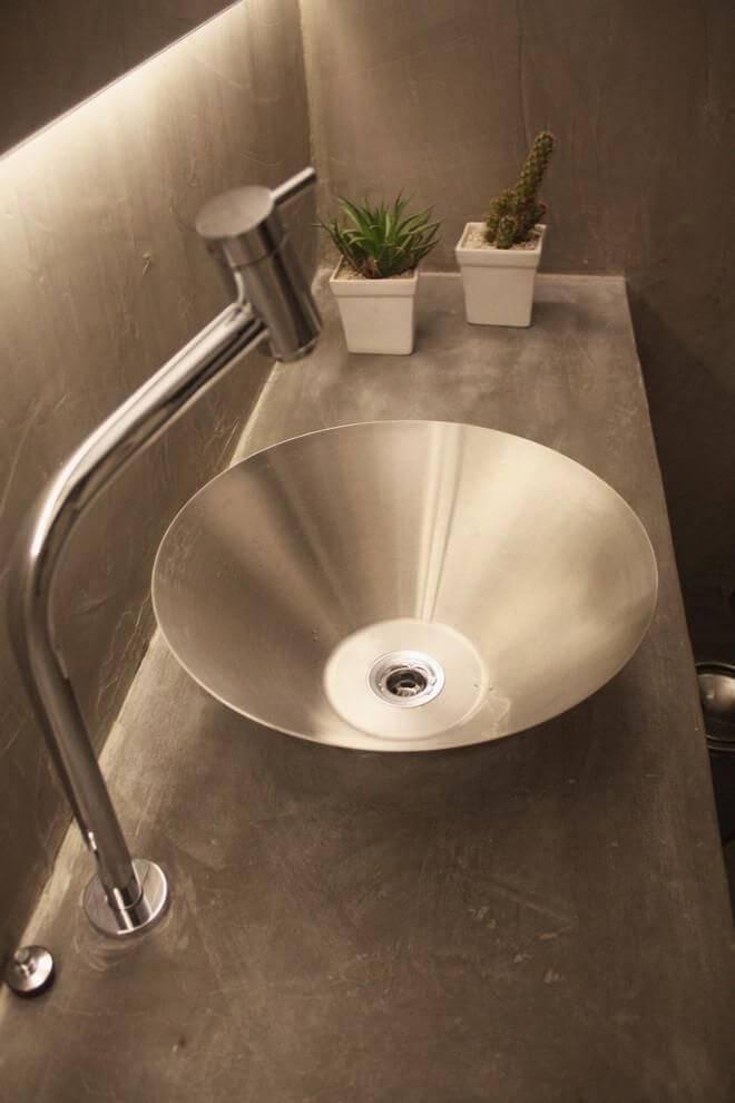 cacto pequeno bancada banheiro tria arquitetura 85207