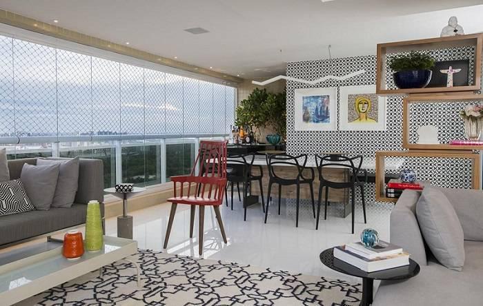cadeiras sala de estar e jantar linhas curvas rodrigo maia 62150