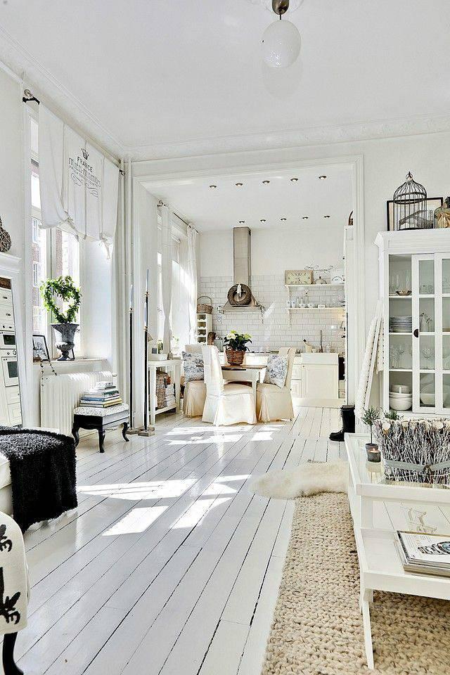 casa ampla com decoração escandinava