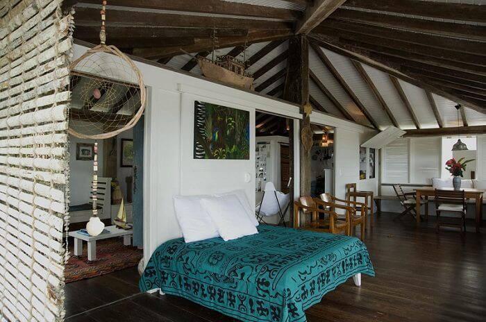 casa de praia com cama na varanda renata romeiro 78458