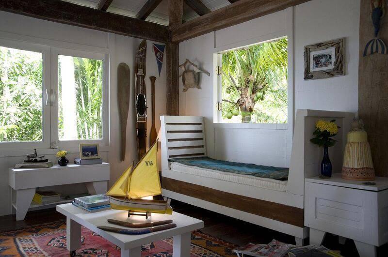 casa de praia quarto de solteiro renata romeiro 78456