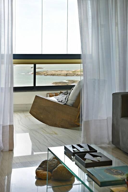 casa de praia varanda com cadeira de balanço coutinho vilela 91926