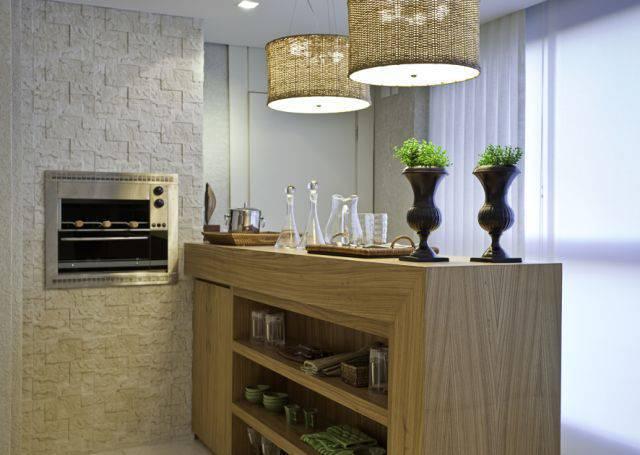 churrasqueira eletrica varanda gourmet com balcao
