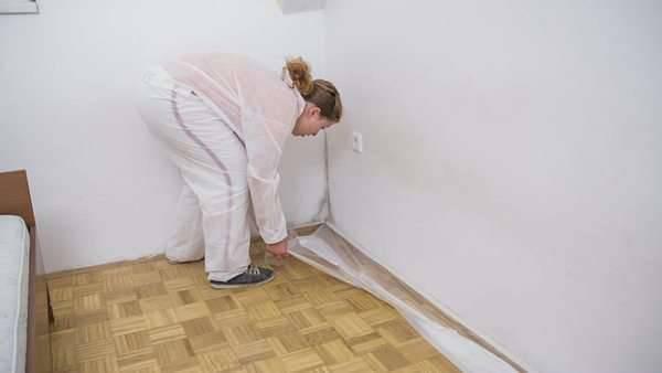 como aplicar textura chao