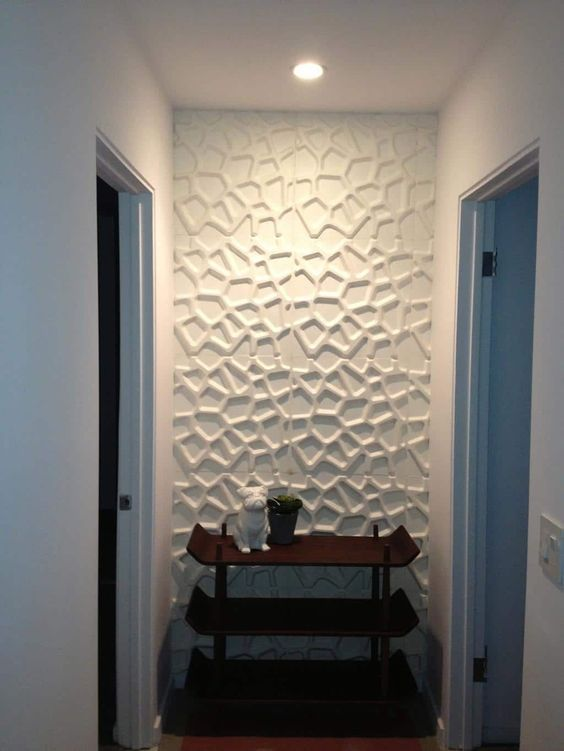 Como aplicar textura de parede no corredor de casa