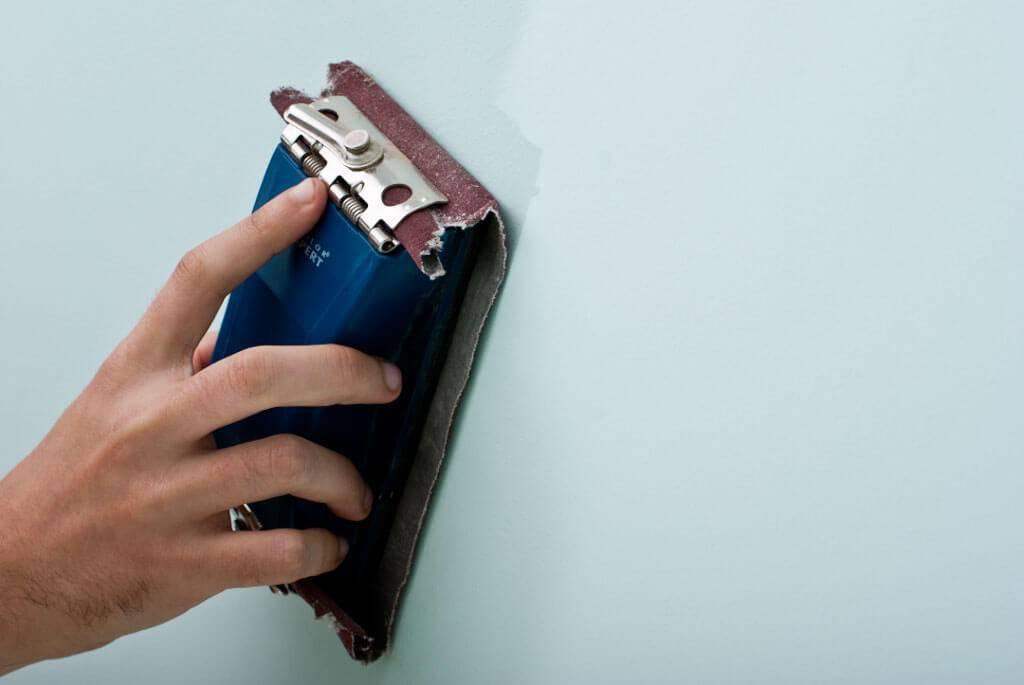 como aplicar textura lixar paredes