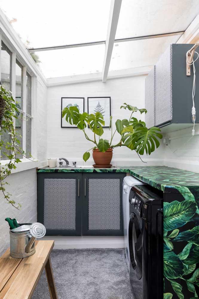 Como aplicar textura de parede na lavanderia
