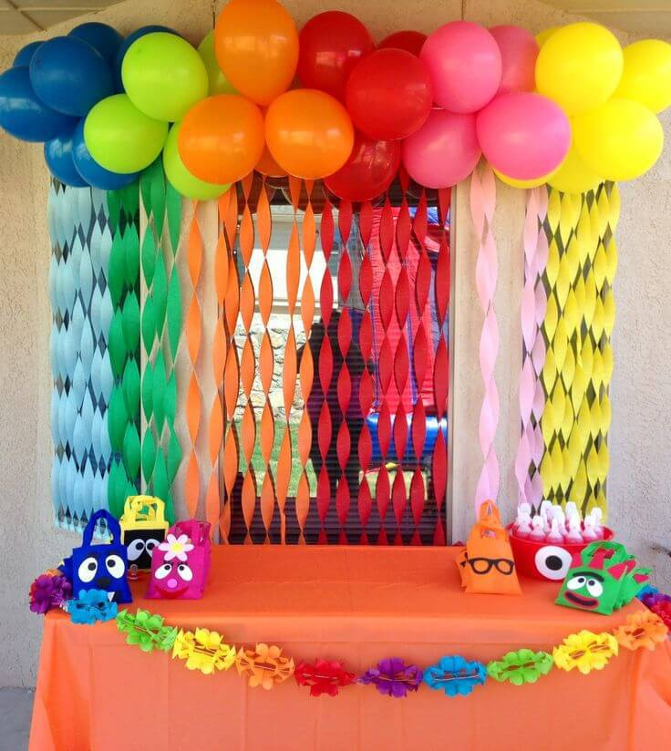 50 ideias de decora o de festa infantil dicas incr veis for Crafts for 10 year old birthday party