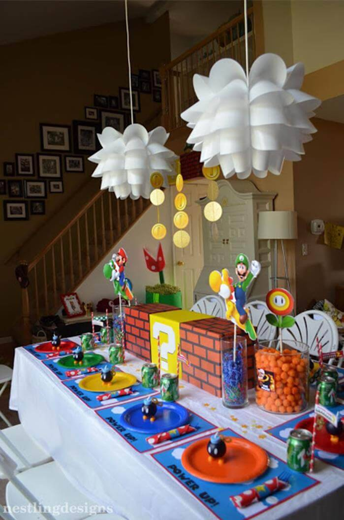 decoracao de festa infantil video game