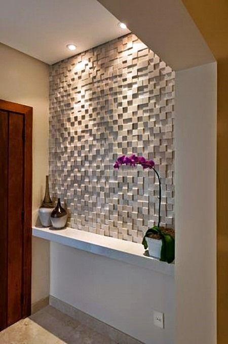 Como aplicar textura de parede no corredor