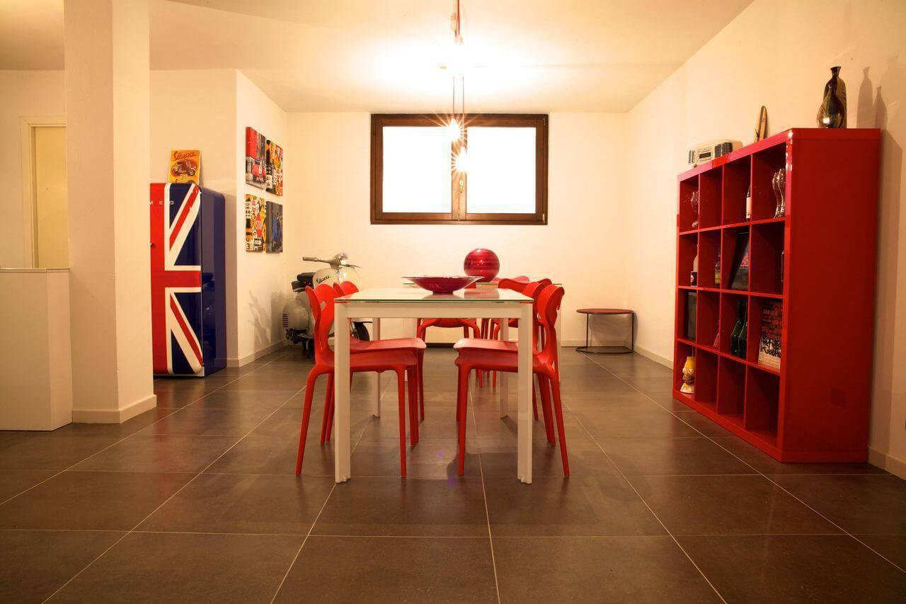 estante colorida baixa sala de jantar gabriele barotto 71458