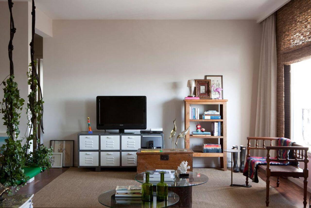 estante madeira baixa sala de estar gabriel valdivieso 24819