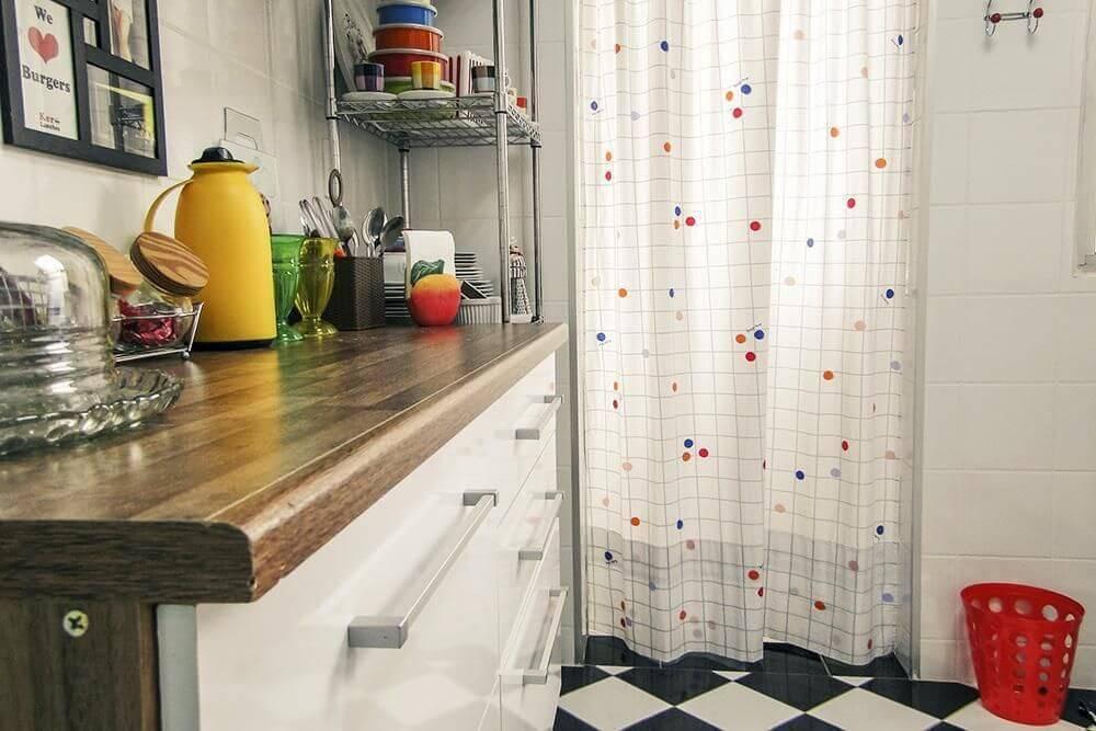 estante metal bancada cozinha casa aberta 21552