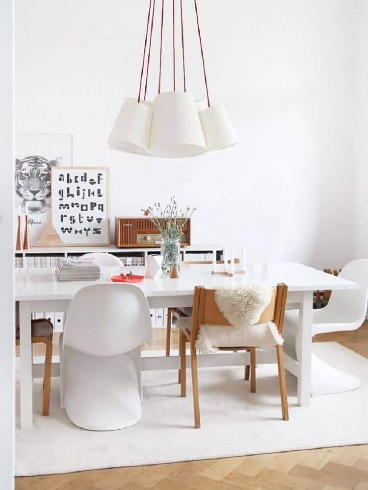 formas de móveis estilo escandinavo