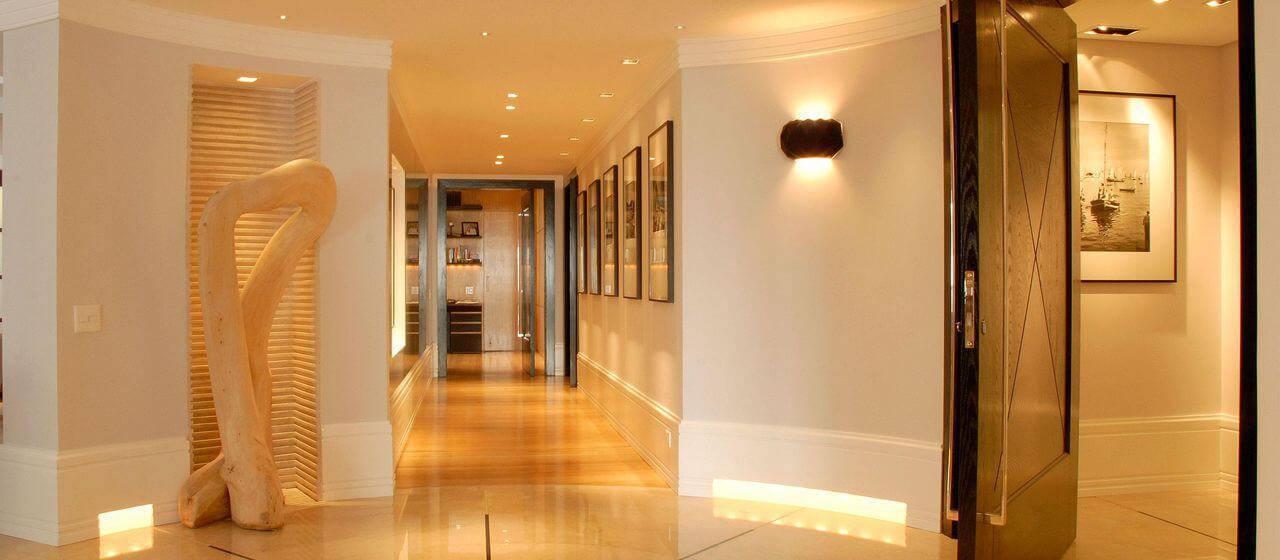 luminarias corredor com arandela olegario de sa 107158