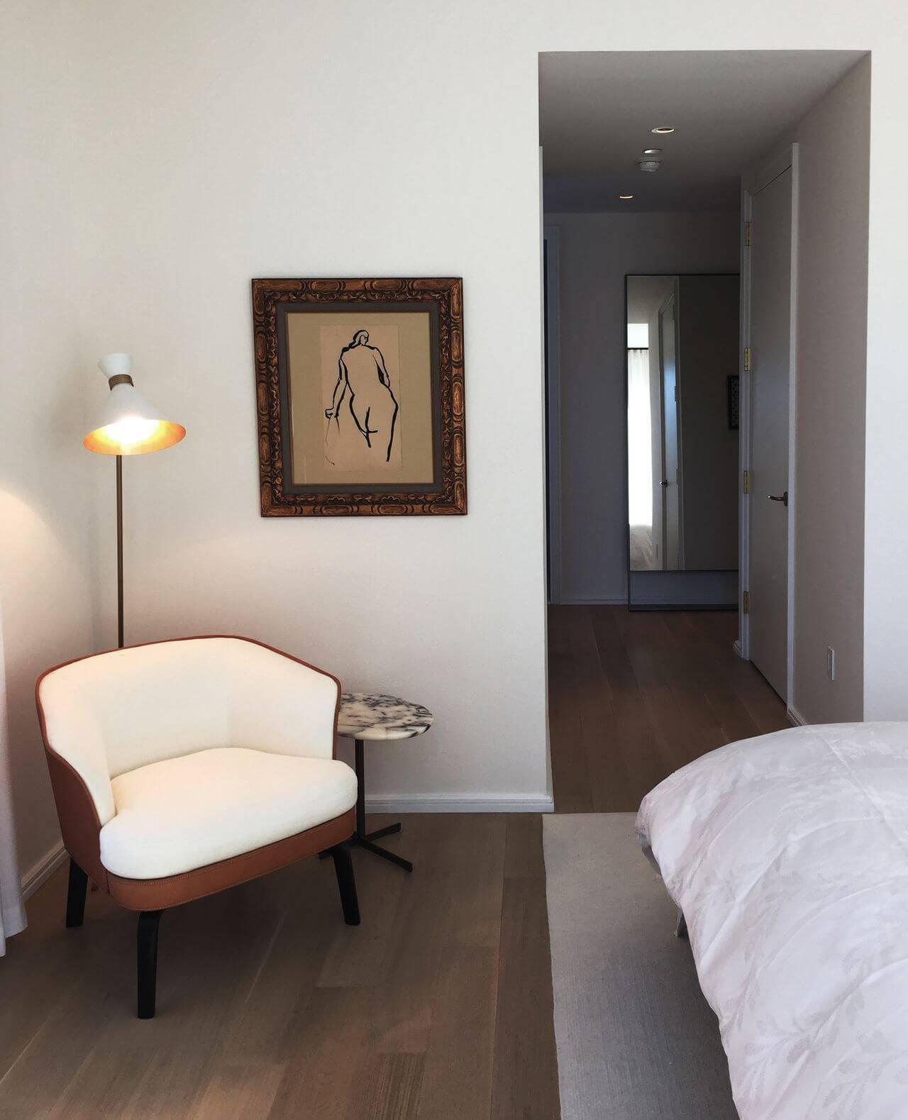 luminarias quarto de casal chão com poltrona kwartet 140427