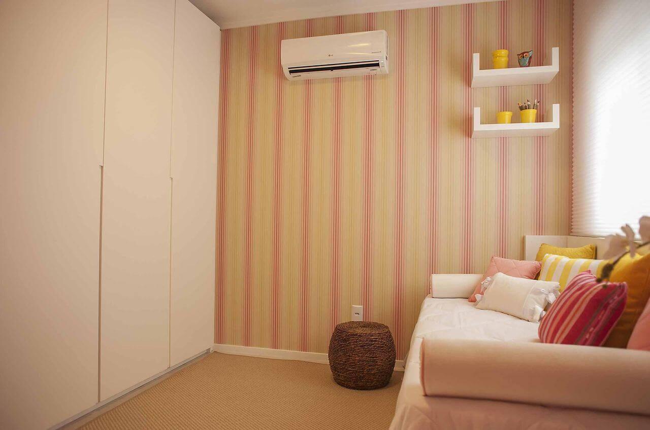papel de parede infantil quarto de menina listars com sofa paula ines sizinando 50972
