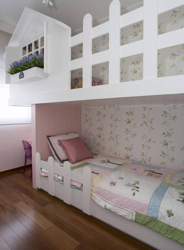 papel de parede infantil quarto de menina passarinhos erica salguero 2272
