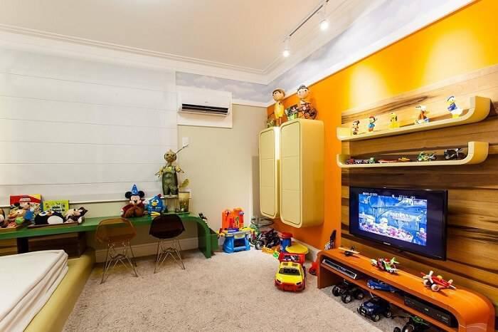 papel de parede infantil quarto de menino nuvens juliana pippi 70115