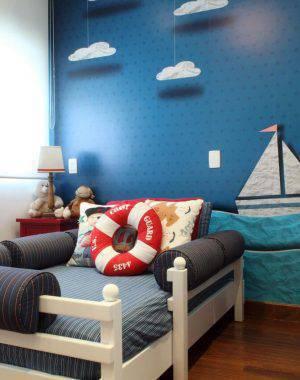 papel de parede infantil quartp de menino mar graciela pinero 104017