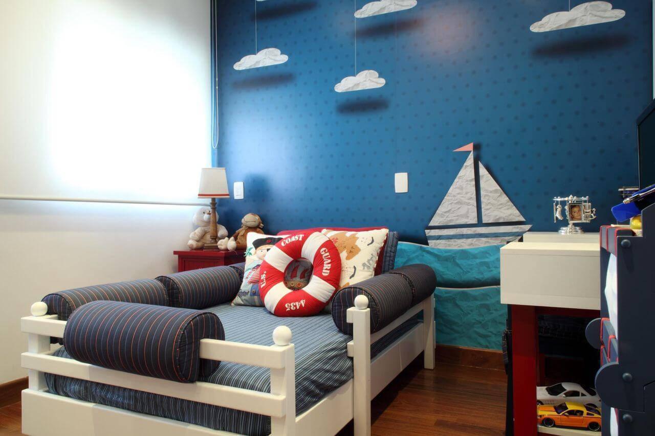 papel de parede infantil quarto de menino mar graciela pinero 104017