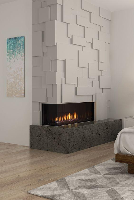Aprenda como aplicar textura de parede na lareira de casa
