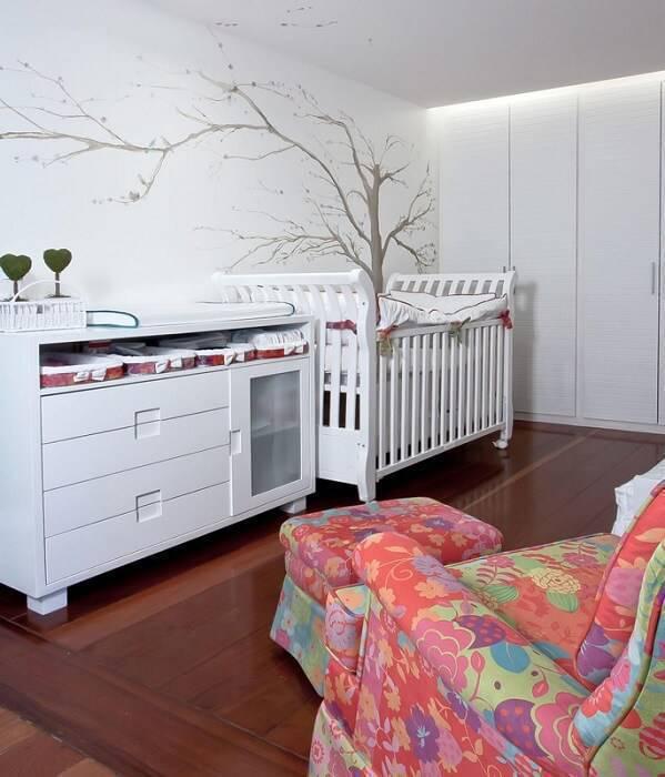 poltrona de amamentação colorida quarto de menina juliana santana 25721