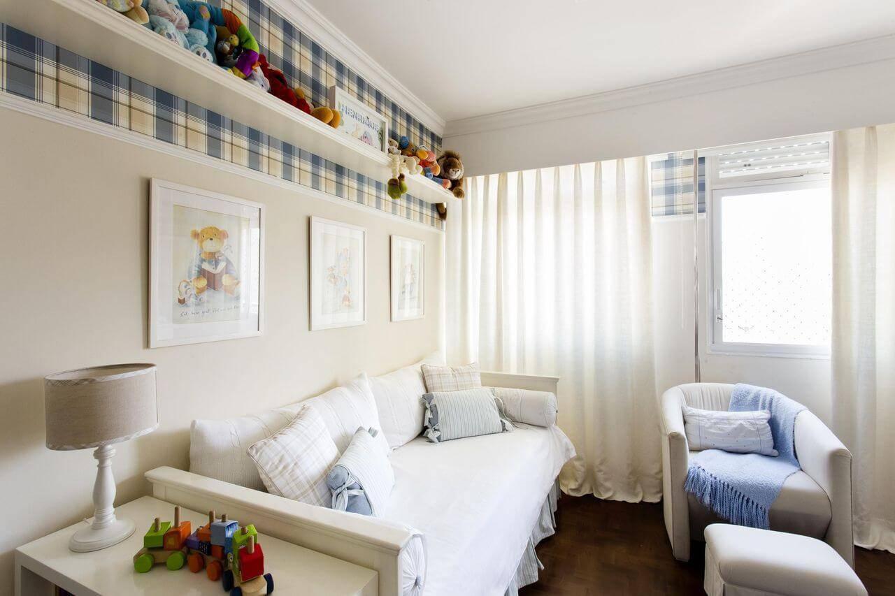 poltrona de amamentação com manta quarto de menino decore planejados 31418
