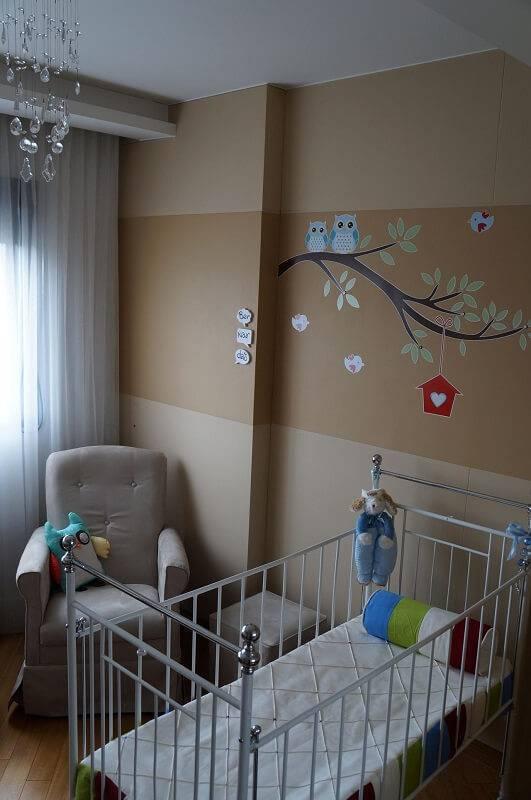 poltrona de amamentação quarto de menino com almofada leiza veiga 20164