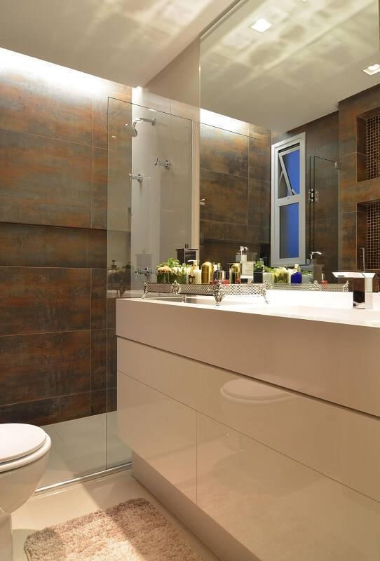 sanca de gesso aberta banheiro anna e anderson schussler 94270