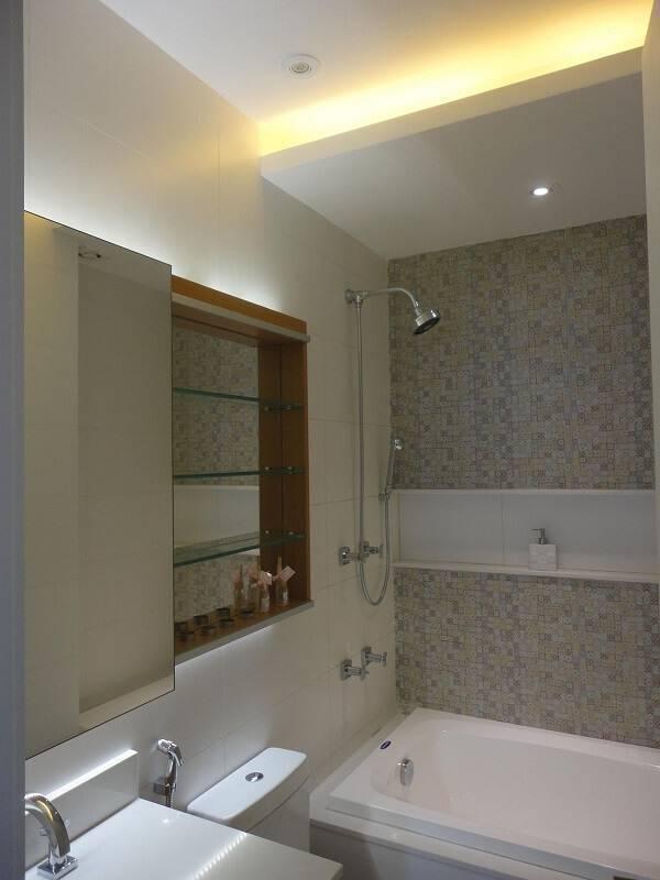 Gesso Para Banheiro Pequeno : Sanca de gesso ambientes lindos e atuais