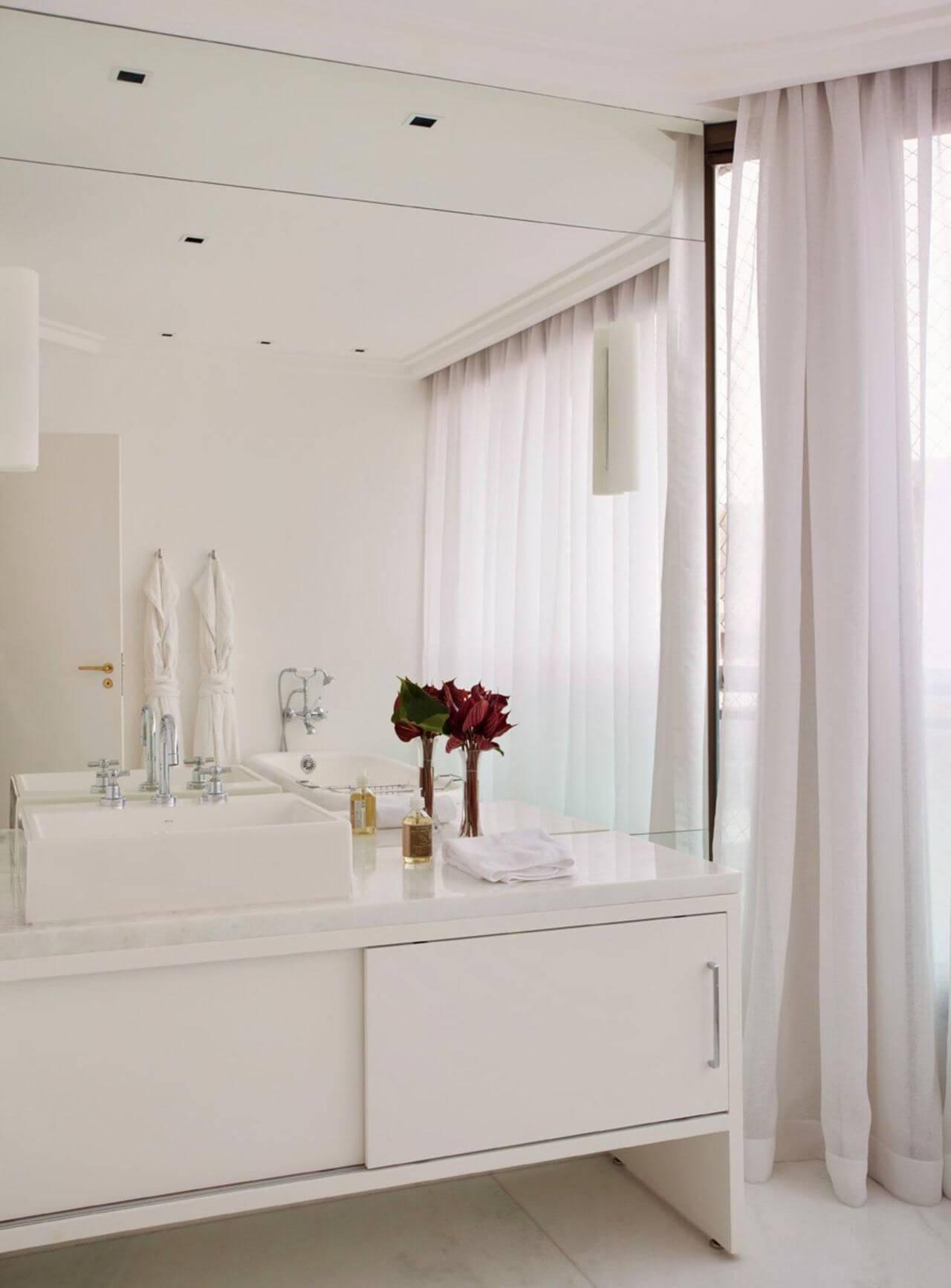sanca de gesso fechada banheiro branco paulo carvalho 27149