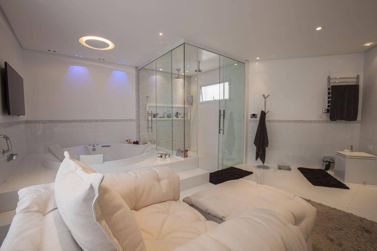 sanca de gesso sala de banho confortável sandra sanches 95353