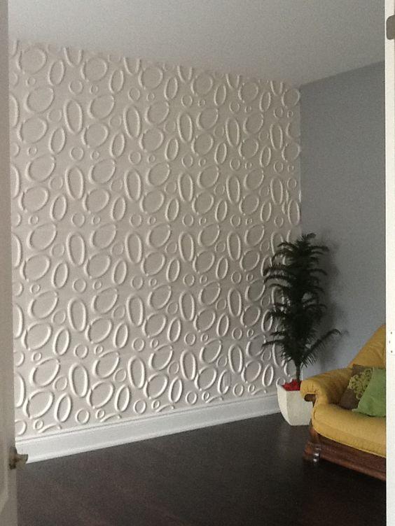 Como aplicar textura de parede branca