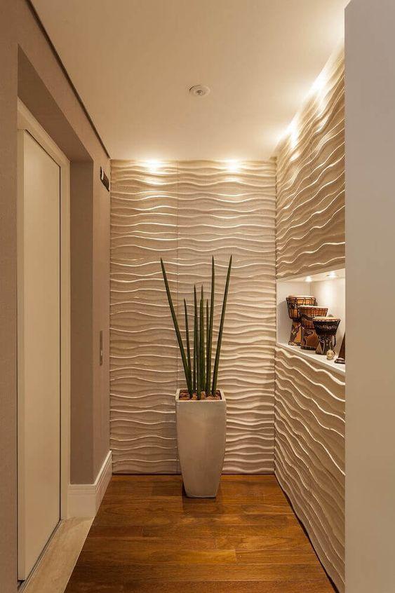 Decore sua casa e aprenda como aplicar textura de parede