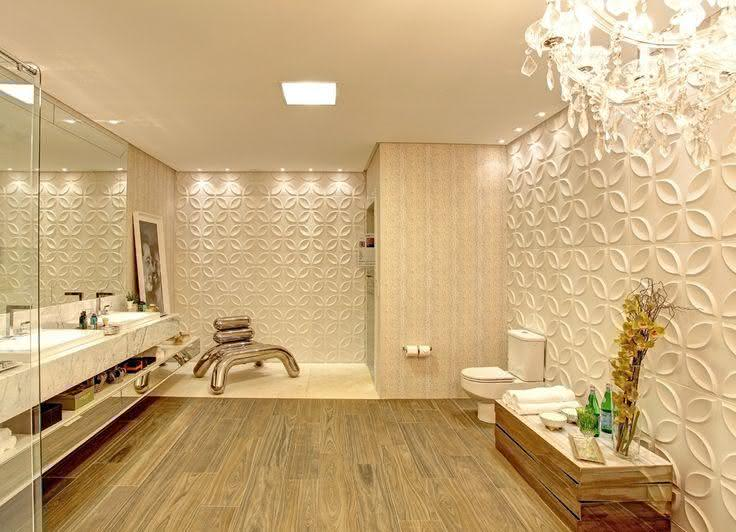 Como aplicar textura de parede no banheiro
