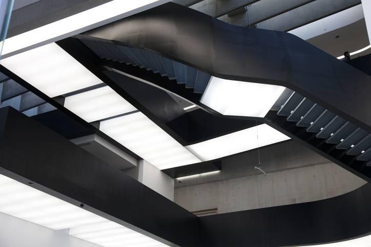 Arquitetos Famosos - Zaha Hadid - Maxxi por dentro