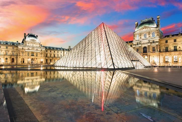 Arquitetos famosos - Leo Ming Pei - Louvre