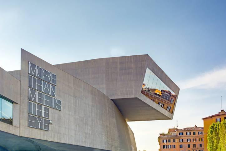 Arquitetos famosos - Zaha Hadid - Maxxi de baixo
