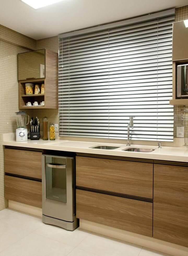 Cozinhas Planejadas para Apartamentos Pequenos com persiana juliana pippi 69488