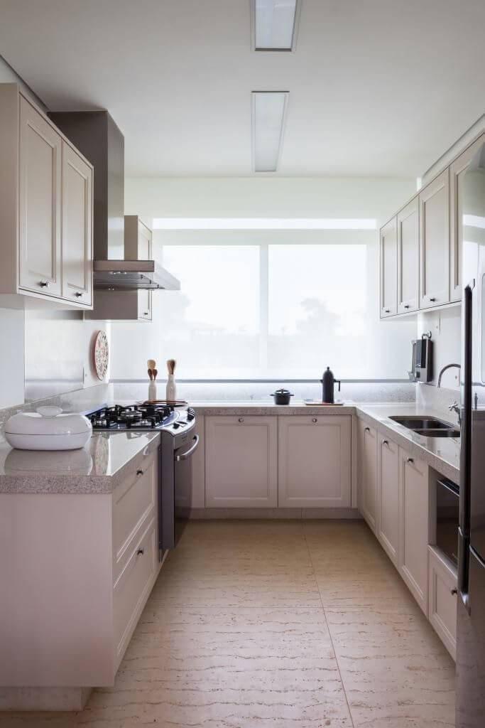 Cozinhas Planejadas para Apartamentos Pequenos em u diptico 21020
