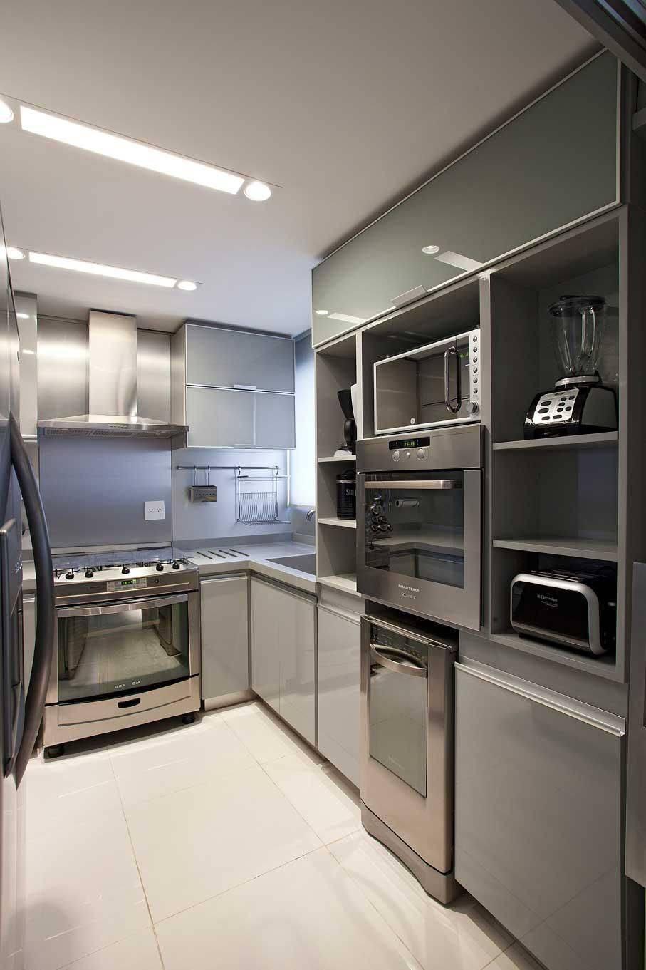 Cozinhas Planejadas para Apartamentos Pequenos lf rezende 67865