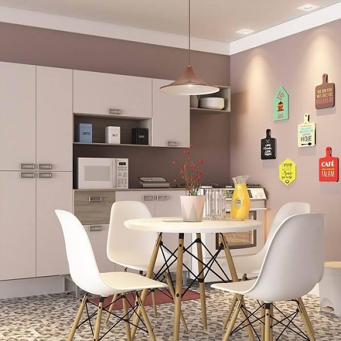 Cozinhas Planejadas para Apartamentos Pequenos moduladas leroy quadros
