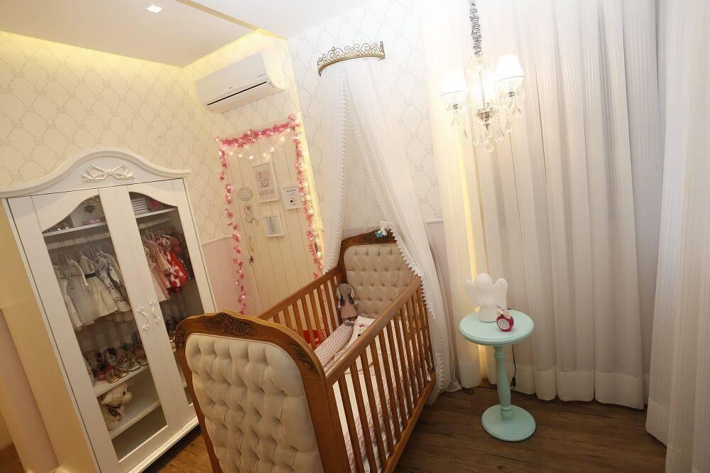 Decoração de Quarto de Bebê Feminino Foto007