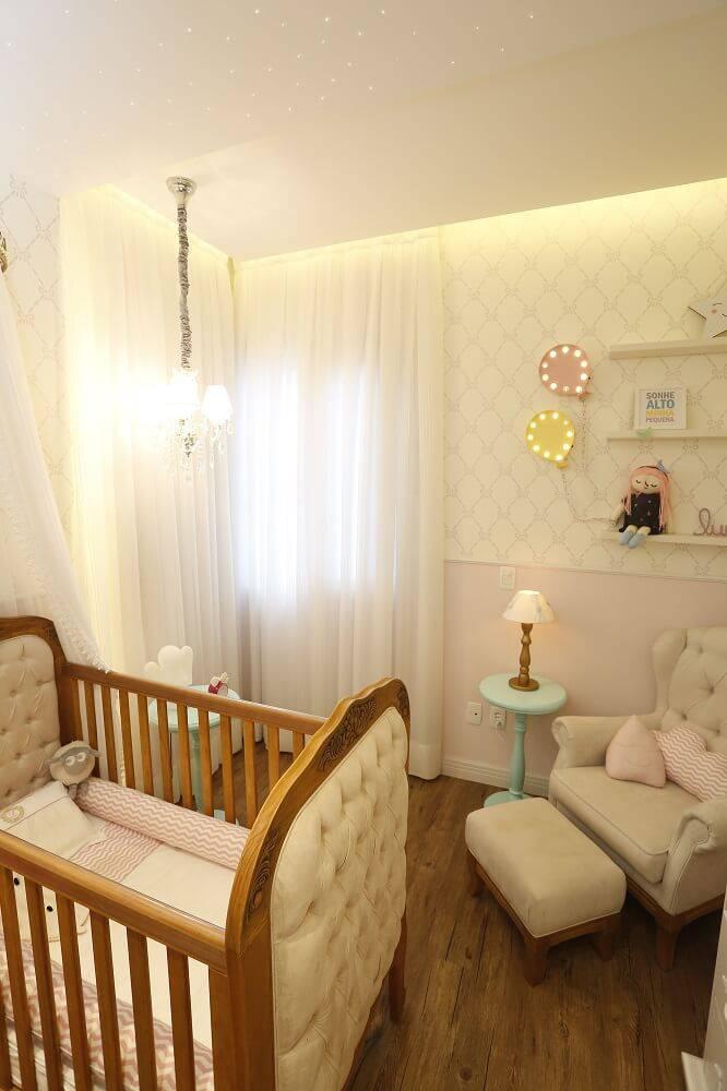 Decoração de Quarto de Bebê Feminino Foto024