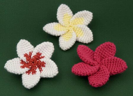 Flor de crochê bonitinha